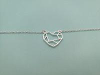 10pcs Wire Shapped Love Abrir corazón con mapa Símbolo de la paz Signo de pulseras para parejas novia