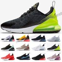 Air max 270 2021 Koşu Ayakkabı Erkekler Kadınlar Için Bruce Teal Üçlü Siyah Beyaz Orta Zeytin Donanması Punch 27c Fotoğraf Mavi Spor Sneakers