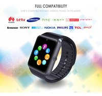GT08 Smart Watches Plus Bluetooth Pair Metal Clock with Sim Card Slot Push Message For Android IOS Phone Smartt watch