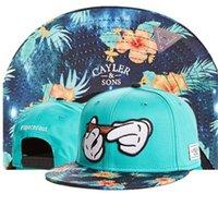 Cappello da 24Style Cayler Sons Hip Hop Fashion Snapbacks Cappelli regolabili Uomo Donne Balltop Quality Snapback Caps