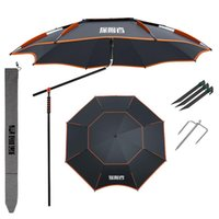 Tents And Shelters 2.0-2.4M Parasol Fishing Umbrella Outdoor Camping Use Detachable Adjustment Direction Sun Shade Rainproof