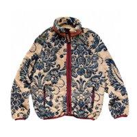 Giacca da uomo Kapital Giacca da uomo Primavera e autunno Retro Polar Fleece Fleece Sloase Coppia Agnello Zip Giacche