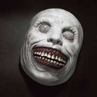Horror Face Masks The Evil Cosplay Props Headwear Creepy Halloween Mask Smiling Demons Dress Up Party Clothing Accessories Gifts