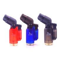뜨거운 판매 부탄 가스 라이터 1300C 제트 화염 토치 방풍 부엌 용접 토치 터보 리필 담배 시가 흡연 DHL 무료