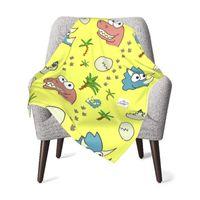 Blankets & Swaddling Baby Kids Blanket Quilt Tell Us Cute Cartoon Thermal Born Swaddleme Soft Children Stroller Wrap For Girl Boy