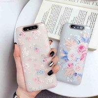 Floral for Galaxy Case TPU Macio Parasite Samsung A71 A51 A41 A31 A21 A01 A20 A30 A40 Copertura A40 A40 A90 A90