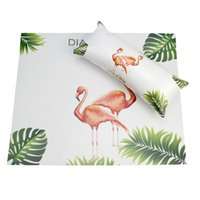 Table Napkin Flamingo Nail Art Hand Pillow Pad Set Salon Arm Rest Holder Cushion Washable Manicure Mat Nails Supplies