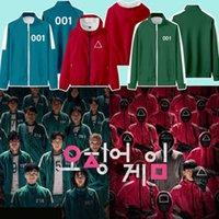 男性映画ロゴ印刷ジャケットファッション韓国の街路壁カーディガンジッパープラスサイズコートデザイナーカップル秋カジュアルプルオーバーアウターウェア