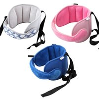 Seat Cushions Baby Head Fixed Sleeping Pillow Adjustable Kids Supports Neck Safety Protection Pad Headrest Children Travel