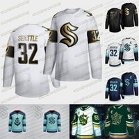 2021 Seattle Krako Golden Edition Golden Hockey Jersey 32nd New Team Personalizzato Away Home Mens Womens Youth Youth 100% cucito maglie hockey