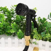 Expandable Magic Flexible Hose Car Washing Sprayer Garden Watering Gun Kits Supplies For Connector 12-60FT Equipments