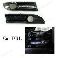 Panel Lights 1 Pair Auto Parts Accessory Car DRL Turn Signal Style 12V 6000k Daytime Running Fog Lamp For V olkswagen P olo 2005-2008