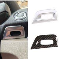 ABS Car Center Controle ontstekingsschakelaar Sleutelgat Cover Frame Trim Fit voor BMW 1 Serie E81 Auto Interieur Accessoires