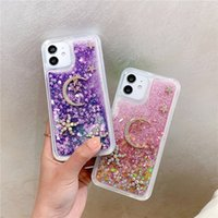 Casos de teléfono de color rápido y de las estrellas con estrellas y luna para iPhone11 12 Pro Promax X XS MAX 7 8 PLUS SAMSUNG S10 S20 S21 Note20 A32 A52 A72 A71
