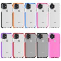 per Iphone 11 cassa del doppio colora la cassa del telefono TPU anti-graffio per Iphone 6 7 8plus Xs Xs Xr Max 11 11 Pro Max