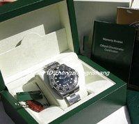 Relojes de ventas de fábrica Marca Movimiento automático de 40 mm SS GMT-MAS TER II BEZEL CERÁMICO NEGRO # 116710 con Reloj de buceo original
