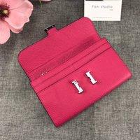 Portafogli da donna di design famoso portafoglio da donna di alta qualità con portafoglio da donna con scatola originale con frizione elegante scatola