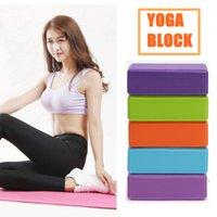 Yoga Blok Köpük Blok Tuğla Eğitim Vücut Geliştirme Fabrika Fiyat Uzman Tasarım Kalitesi Son Stil Orijinal Durum.
