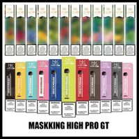 Maskking High Pro GT Einweggerät Version 1000 Puffs 600mAh 3,5ml Vorgefüllte Patronen E Zigarette PK Air Bar Lux GT Bang XXL Puff