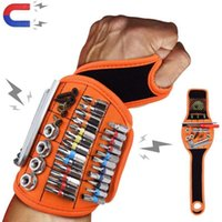 Professional Hand Tool Sets Magnetic Bag Wristband Portable Holding Screws Nails Drill Holder Repair Belt Electrician