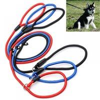 Dog Training Leash Slip Pet Small Dogs Nylon Rope Lead Strap Adjustable Puppy Traction Collar