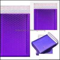 Office School Business & Industrialpurple Poly Bubble Mailers Padded Self Seal Mailing Envelopes Pack 50Pcs 18*23Cm Packing Bags 431 R2 Drop