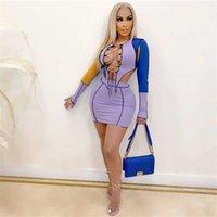 Мода женские мини сексуальные oneDegress женщин платье с коротким рукавом юбка дизайнер лето выше колена высокое качество повседневные платья элегантные роскоши Wome