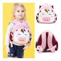 Sırt çantası sadece tao! 13 Renkler Özel Tasarım Anti-kayıp Çanta Çocuklar Küçük Karikatür Sırt Çantaları Kızlar Güzel Pamuklu Çocuk Mini Çanta JT063