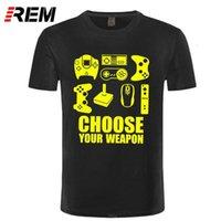 Nouveau T-shirt homme d'été Choisissez votre t-shirt de jeu vidéo T-shirt vidéo T-shirt T-shirt T-shirt Short Sleeve Tshirt
