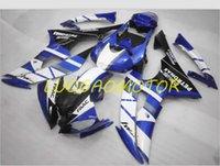 Spritzguss-ABS-Verkleidung Kit Full-Verkleidungs-Kits für Yamaha YZFR6 YZF R6 2008 2009 2010 2011 2012 2013 2015-2016 2014 08 09 10 11 12 13 14 15 16 Weiß Schwarz Blau% Yi-Karosserie