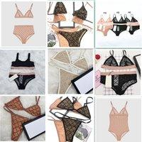 Frauen Sexy Badeanzug Sommer Spitze Hohl Weibliche BH-Wäschereien Urlaub Persönlichkeit Charme Mädchen Bikini Strandnutzung