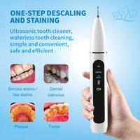 Inicio Ultrasónico Cálculo Removedor Dental Escalado eléctrico Portátil Scaler Sonic Smoke Manchas Tartar Placa Dientes Blanco