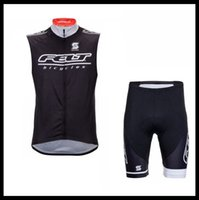 Equipo de fieltro Ciclismo Sin mangas Jersey Jersey Maillot Shorts Sets Pro Ropa Montaña Respirable Racing Sports Bicycle Soft Skin Friendly Se puede mezclar 51227