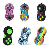 Полный цвет Fidget Toy Pad второе поколение головоломки кубик рукой хвостовик игровые контроллеры стресса облегчение палец декомпрессии тревоги игрушки в наличии