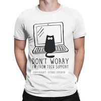 Programmes d'ordinateurs T-shirts T-shirts Men Tech Support T-shirts Code Software Programmation drôle Tshirt Tshirt Tees de Noël mâle