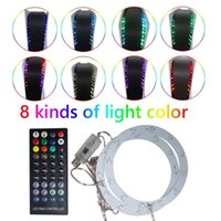 New 8 Colors Lighting Game Console Light Strip LED Strip Light for PS5 Console with Remote Control Ambiance Backlights G1022