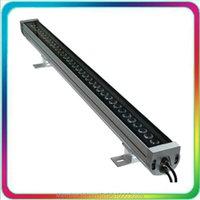 Garantie 3 Jahre Outdoor Color Change 36W DMX512 RGB LED Wall Waschmaschine DMX Flutlicht Flutlicht Lampe Scheinwerfer