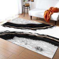 Carpets Agate Marble Glam Decor Art Carpet For Home Living Room Bedroom Bedside Large Area Rug Kids Crawl Mat