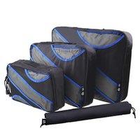 Duffel Bags Yetties Packing Cubes Fashion Travel Duffle Bag Mesh Organizer Breathable Nylon Men Women Luggage Set
