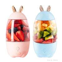 Juicers 330ml Juicer Cup Fruit Blender Mixer Portable USB Rechargeable Household Orange Drop