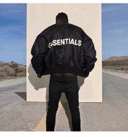 mujeres hombres invierno reflectante chaqueta esencial rompevientos para mujer chaquetas de hombre esenciales de manga larga manga casual niebla suelta cremallera cardigan abrigos negros