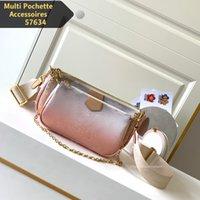 Sacs de costume de trois pièces premium Pochette multi-pochette Accessoires Embrayage Sac à main Femmes Épaule Bandbody sac Lady Designer Sacs à main M57634 M57633