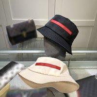 Wiadro kapelusz projektanci mody letnie klasyczne męskie i damskie luksusowe luksusowe luksusowe oddychające parashada z doskonałą jakością 2 kolory dobre ładne ładne