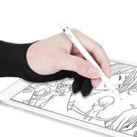 Einweghandschuhe 2 stücke Anti-Fouling Zeichnung Handschuh Monitor Digital Tablet Leuchtkasten Tracing Board für Grafiken Stift Free Größe #