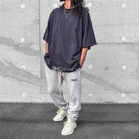 Moda Erkek Pantolon Gönderilmiş Pantolon Hip Hop Hareket Rahat Joggers Boyut S-XL