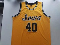 Rare Basketball Jersey Homens Juvenil Mulheres Vintage # 40 Chris Street Iowa Hawkeys College Size S-5XL Personalizar Qualquer nome ou número