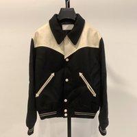 Мода мужские куртки 2021 взлетно-посадочная полоса роскошный дизайнер европейский дизайн вечеринка стиль мужская одежда чел