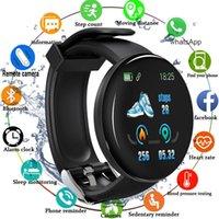 Smart Watch Blood Pressure Heart Rate Monitor Waterproof Bluetooth Round Fitness Tracker Smartband Bracelet