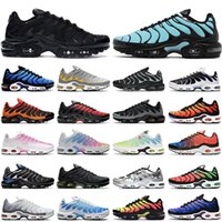 TN air max plus hommes femmes Chaussures de course nike formateurs Aqua Silver Triple Black White Particle Wolf Grey Hyper Blue Worldwide Sky Pink baskets de sport pour hommes