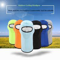 Casquettes de sport de soie à glace extérieure Masques Curcling Case de chapon et protection solaire Vélo Vélo Vélo Vélo Masque de protection CS masquade